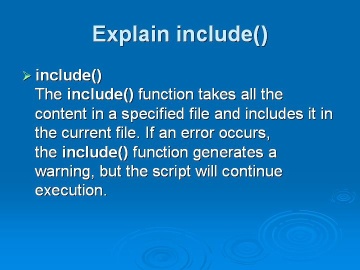13_Explain include()