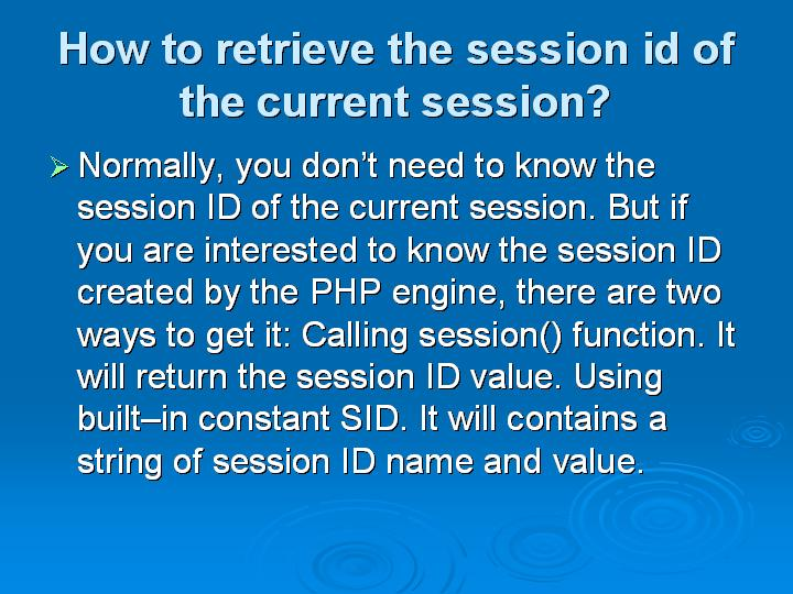 54_How to retrieve the session id of the current session