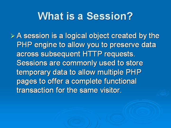 5_What is a Session