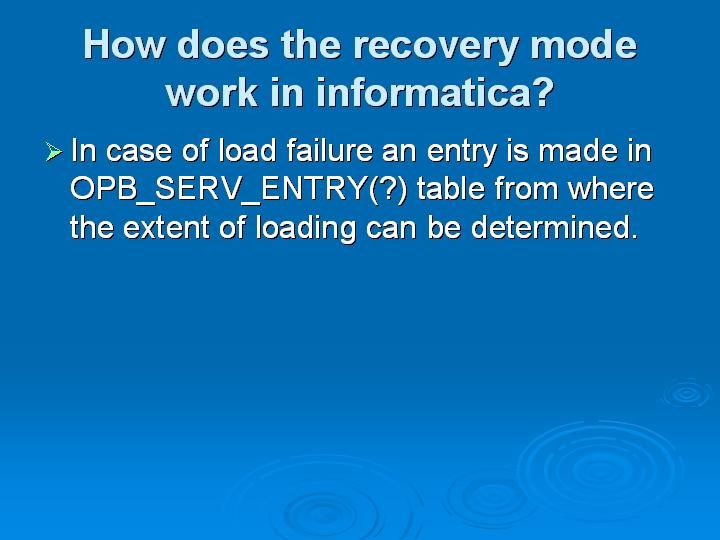 Informatica Interview Questions (60)