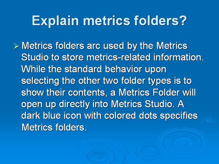 16_Explain metrics folders