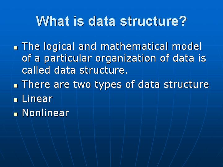 2_What is data structure