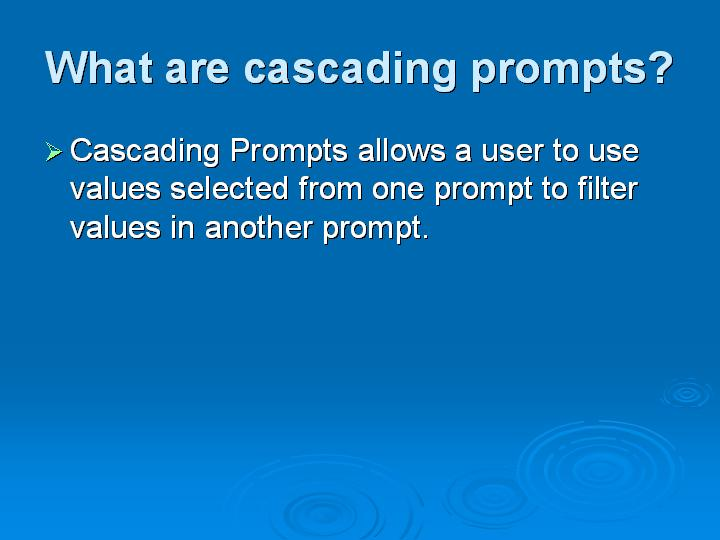 31_What are cascading prompts