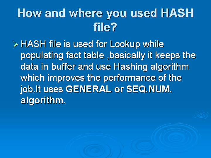 37_How and where you used HASH file