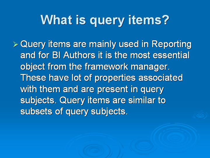 37_What is query items
