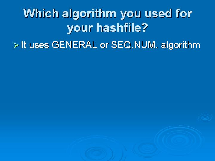 43_Which algorithm you used for your hashfile