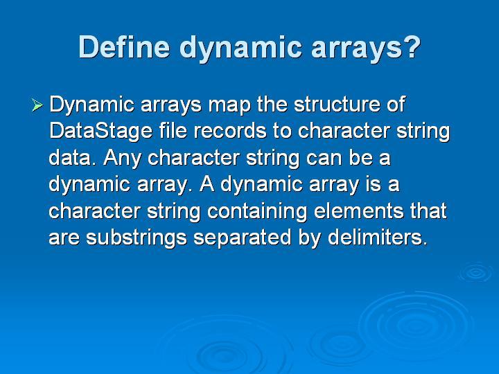 60_Define dynamic arrays