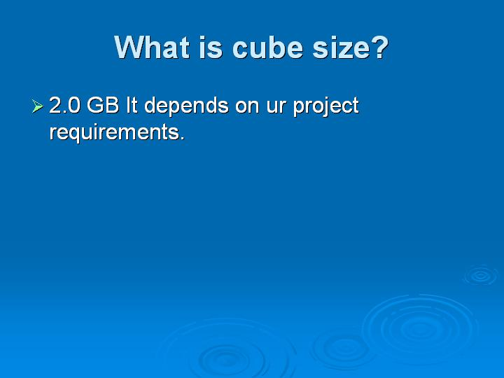 60_What is cube size