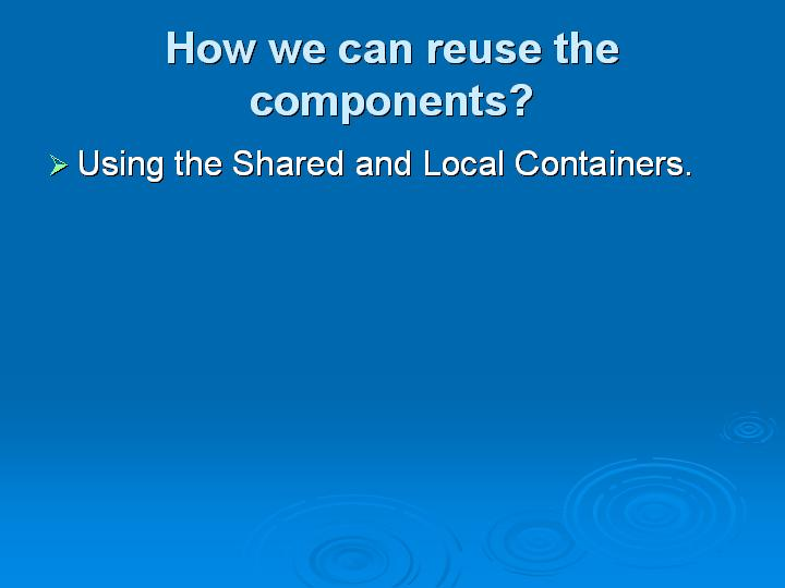 69_How we can reuse the components