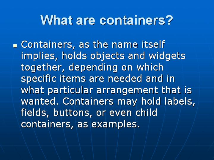 14_What are containers