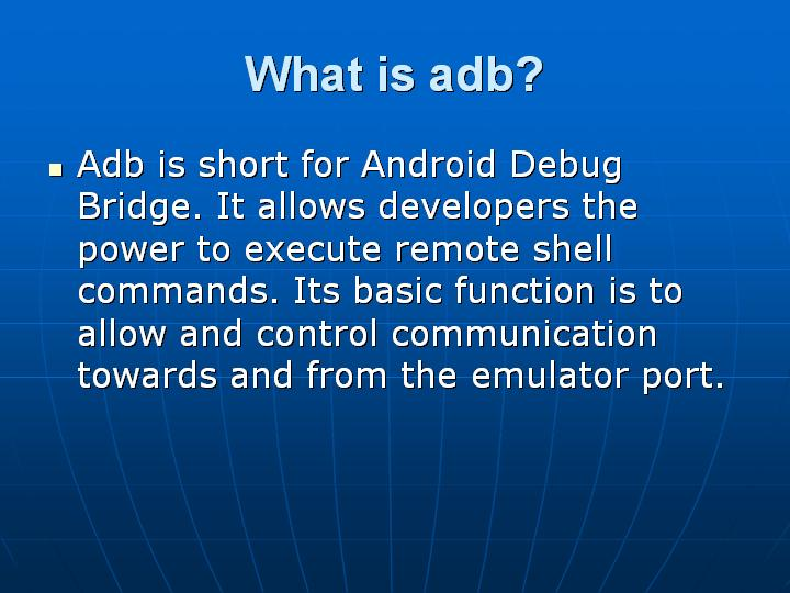 18_What is adb