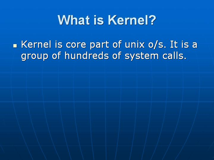 27_What is Kernel