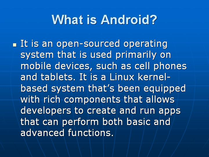 2_What is Android