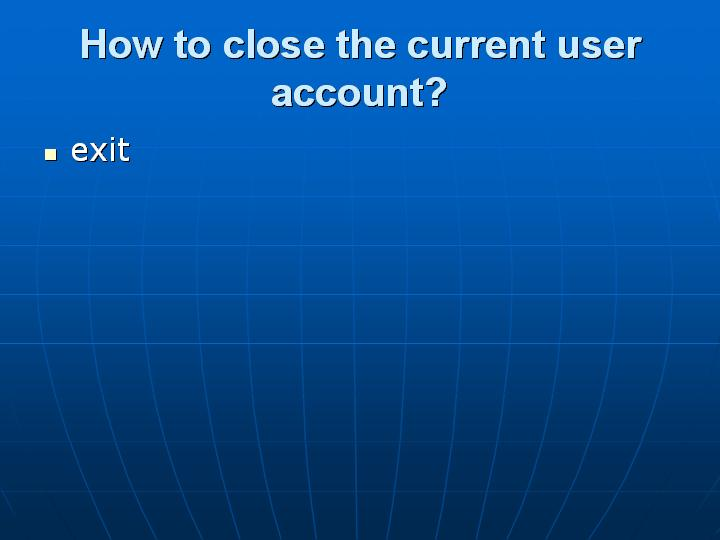 32_How to close the current user account