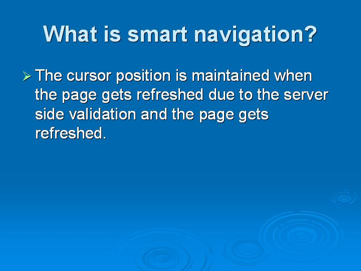 33_What is smart navigation