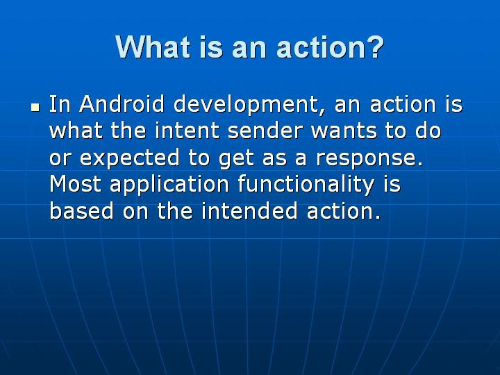 49_What is an action