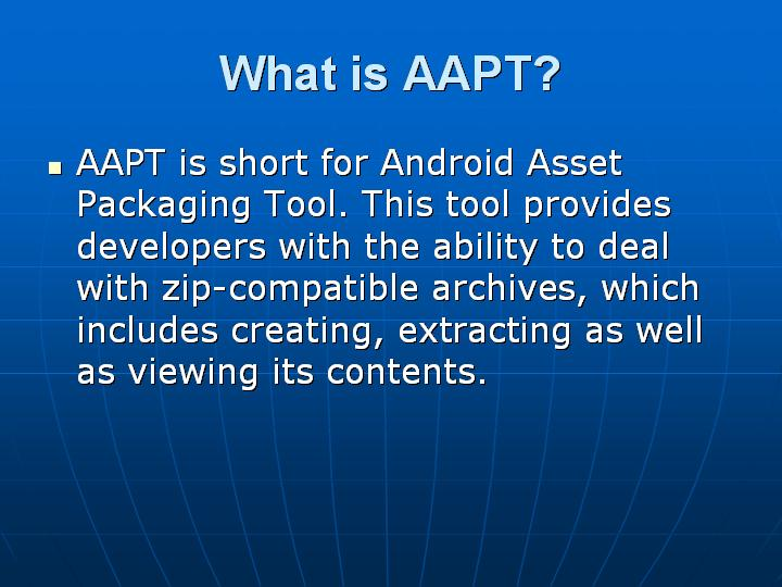6_What is AAPT