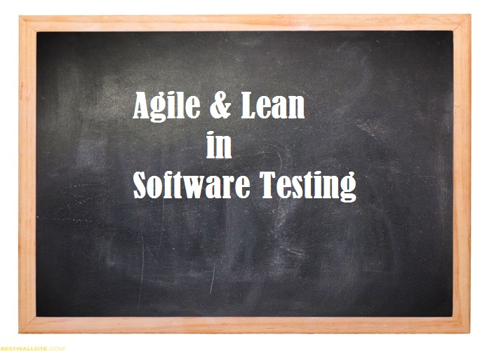 agile and lean software testing