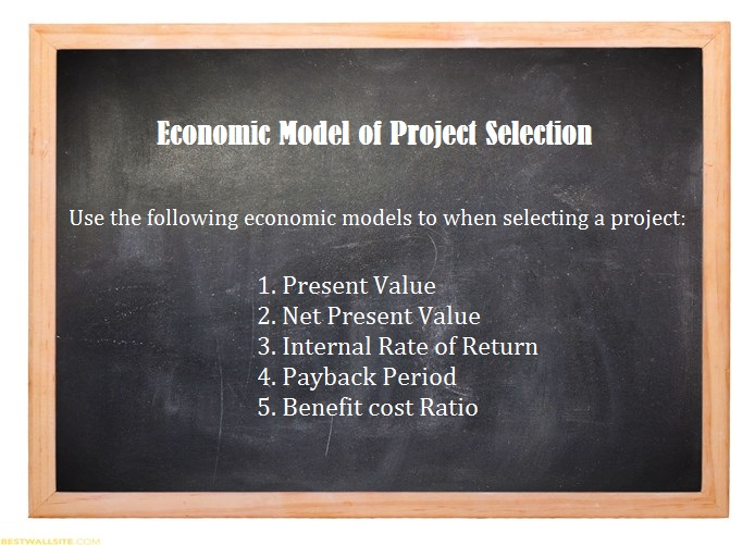 economic-model-of-project-selection-overview-tutorial