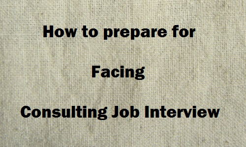 Consulting interview questions with answers